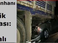 Sultanhanı'nda trafik kazası: 2 yaralı