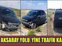 Aksaray-Konya Karayolu'nda kaza: 1 yaralı