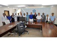 Meram Tıp'a Tisk Mikrocerrahi ve Rekonstrüksiyon Vakfından cihaz bağışı