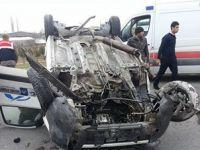 Eşmekaya'da Kaza 1 Kişi Yaralı