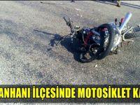 Sultanhanı'nda motosiklet kazası: 2 yaralı!