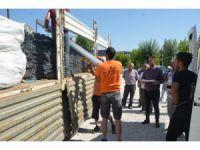 Ereğli'de tarımsal destekleme kapsamında aparatlar çiftçilere dağıtıldı