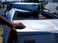 Sultanhanı'nda trafik kazası: 3 yaralı