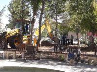 Eskil Şehir Parkı Yenileme Çalışmaları Başladı