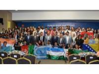 35 ülkeden gelen öğrenciler Bilim Merkezinde buluştu