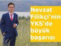 Nevzat Filikçi'nin YKS'de büyük başarısı