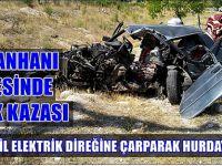 Sultanhanı'nda trafik kazası: 1 ağır yaralı
