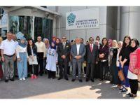 Irak'tan gelen başarılı öğrenciler NEÜ'de incelemelerde bulundu
