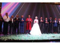 Bakan Kurum ve Koca, Konya'da nikah merasimine katıldı