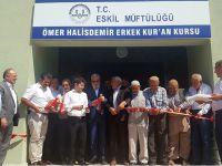 Eskil Ömer Halisdemir Kuran Kursu açıldı