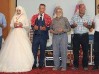 Merve ile Hasan evlendi