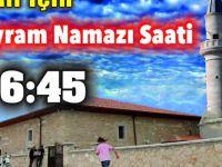 Eskil'de Kurban Bayramı Namazı 06.45'te kılınacak
