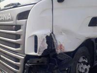 Eskilli Tır Şoförü Afyon'da kaza yaptı