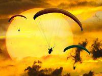 Aksaray'da Yamaç paraşüt Dünya Kupası Heyecanı Yarın Başlıyor
