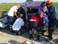 Aksaray-Konya Yolunda Kaza: 1'i Bebek 3 Yaralı