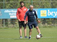 Atiker Konyaspor günü yaptığı tek antrenmanla değerlendirdi