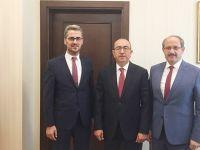 Başkanlardan Kavuş' a Hayırlı Olsun Ziyareti!