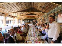 Başkan Tutal'dan gaziler onuruna yemek