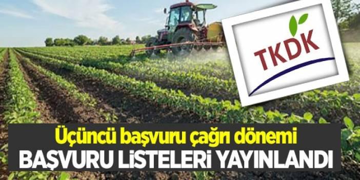 TKDK'da başvuru listesi yayınlandı!