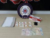 Aksaray'da eroinle yakalanan şüpheli tutuklandı