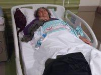Asker ziyaretine giden Eskilli anne-kız Kayseri'de trafik kazası geçirdi