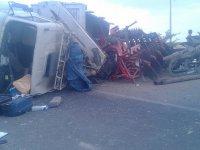 Bozcamahmut'ta kaza yapan şoförden ilginç gerekçe