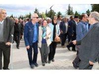 Ünlü oyuncu Mehmet Uslu, memleketi Akşehir'de defnedildi
