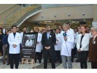 Konya'da, İstanbul'da öldürülen doktor için anma töreni