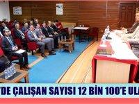 Aksaray OSB'de çalışan sayısı 12 Bin'i geçti