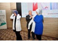 NEÜ ve ASÜ Tıp öğrencileri beyaz önlüklerini giydi