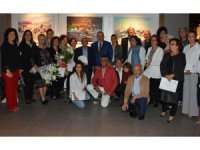 Orhan Cebrailoğlu Atölyesi Resim Sergisi, sanatseverlerle buluştu