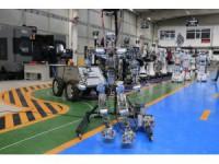 İnsansı robot Akıncı-4 üstün yetenekleriyle dikkat çekiyor