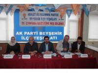 AK Parti Beyşehir Teşkilatında 71. İl Danışma Toplantısı yapıldı