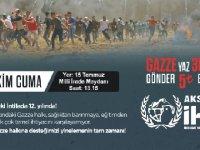 Gazze'ye yardım cuması!