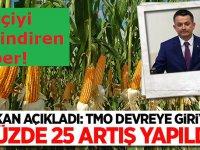 Bakan Pakdemirli'den çiftçiye mısırda fiyat müjdesi