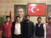 Veli Batur AK Parti Eskil Gençlik Kolları Başkanı oldu