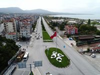 Beyşehir'in çehresini değiştiren çalışmalar sürüyor