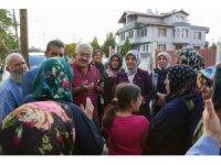 Başkan Toru, vatandaşlarla buluştu