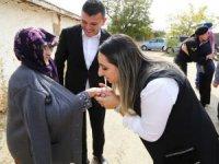 Yeşim Pekmez'den Baymış köyüne ziyaret