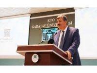 """KTO Karatay'da """"Liderlik, Girişimcilik ve Finans Zirvesi"""""""
