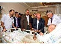 Başkan Pekyatırmacı'dan hastalara ziyaret