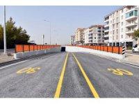 Aksaray'da Tacin Alt Geçidi trafiğe açıldı