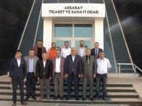 Milletvekli Ramazan Kaşlı'dan ATSO'ya ziyaret