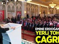 Emine Erdoğan'dan yerli tohum çağrısı