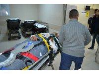 Aksaray'da işçilerini taşıyan minibüs devrildi: 2'si ağır 9 yaralı