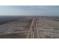 Aksaray'da Yeni Sanayi Sitesi projesi inşaat çalışmaları devam ediyor