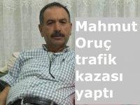 Mahmut Oruç trafik kazası yaptı