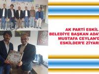 Ak Parti Eskil Belediye Başkan Aday Adayı Mustafa Ceylan'dan ESKİLDER'e Ziyaret!