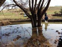 Aksaray Macarlı Köyü Yer üstü Sulama Tesisi İşlemleri Tamamlandı