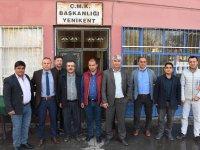 Bülent Saklav Yenikent Çiftçi Mallarını Koruma Başkanlığını ziyaret etti
